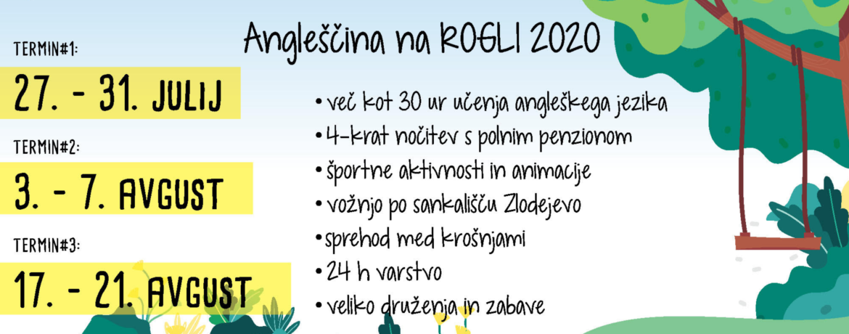 Poletni jezikovni tabor Rogla